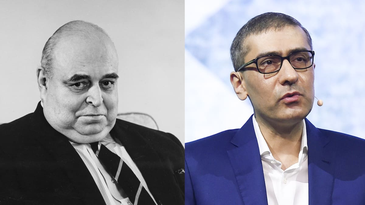 Juuso Walden ja Rajeev Suri