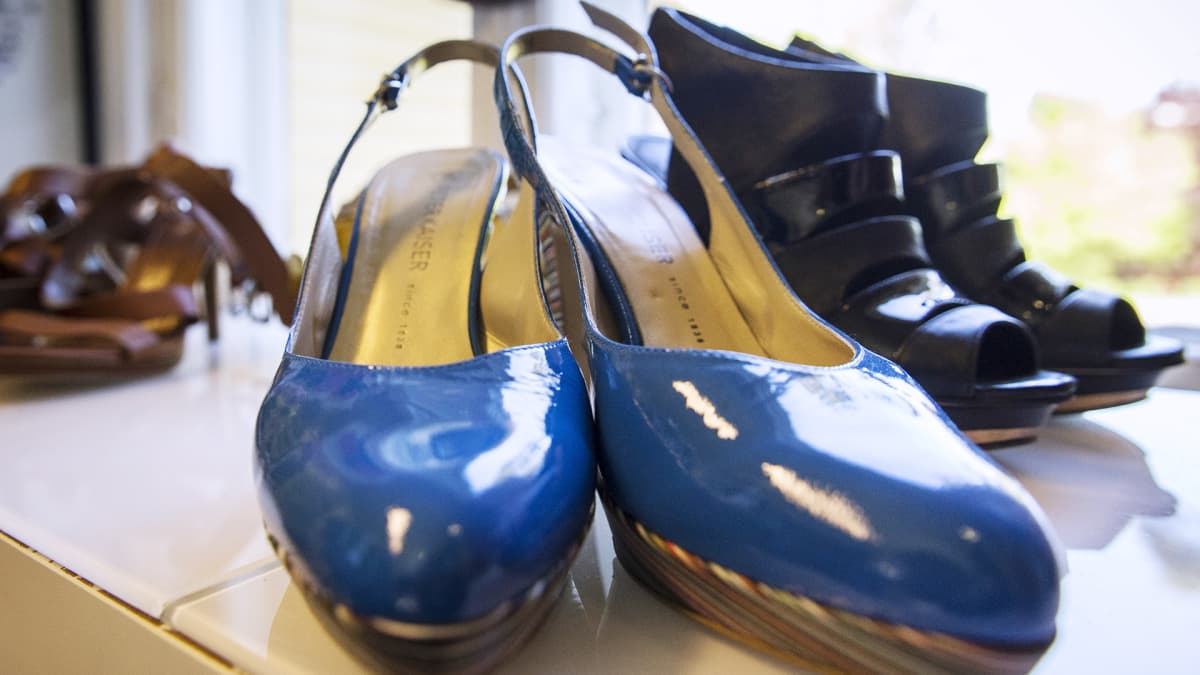 kenkiä kirppiksellä