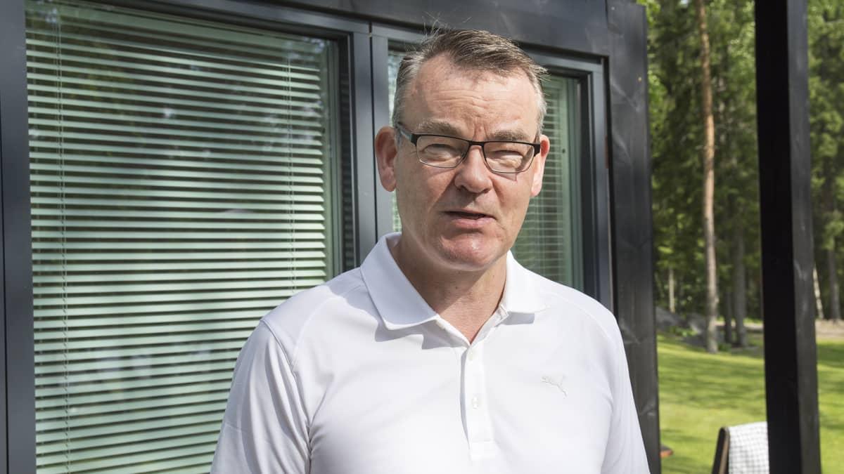 DNA:n toimitusjohtaja Jukka Leinonen.
