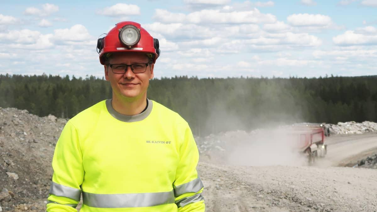kaivospäällikkö Petteri Tanner