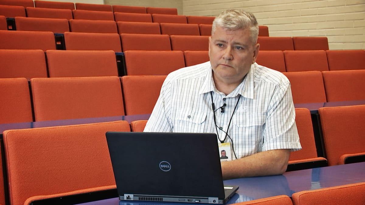 Turvallisuusjohtaja Mats Fagerström.
