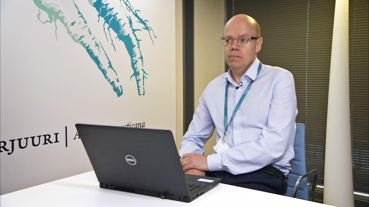 Valtorin asiakkuusjohtaja Jouni Mustonen.