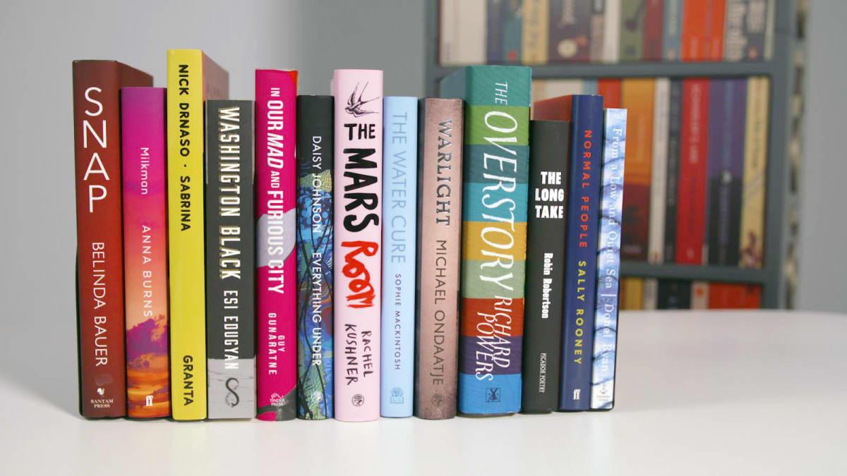 Booker Prize -ehdokaskirjat.