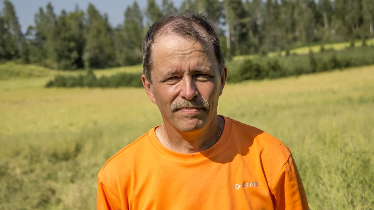 Viljelijä Jukka Hirvikallio.