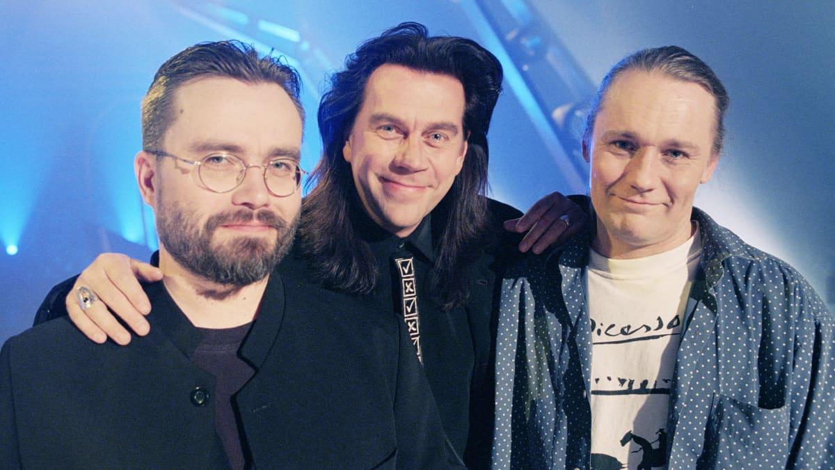 Esa Kaartamo, Mikko Kuustonen ja Edu Kettunen.