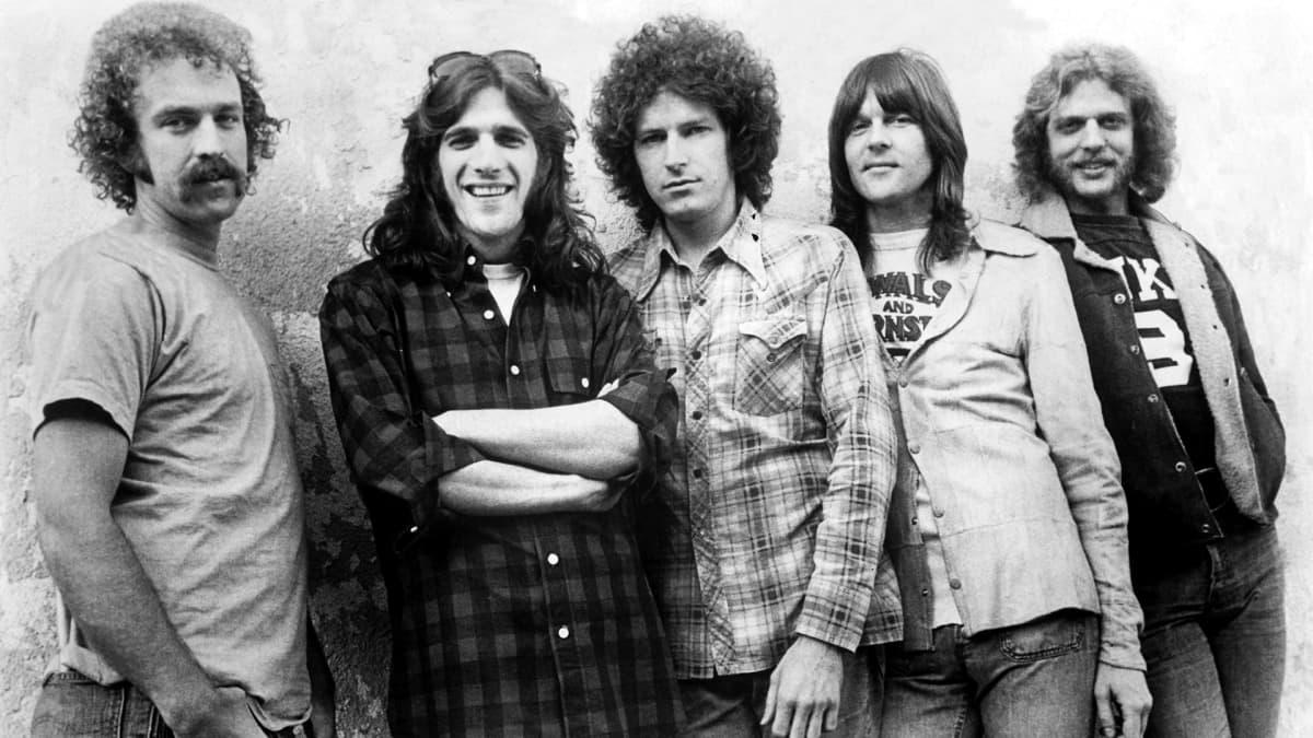 The Eagles 1970-luvun alkupuolen kokoonpanossaan.