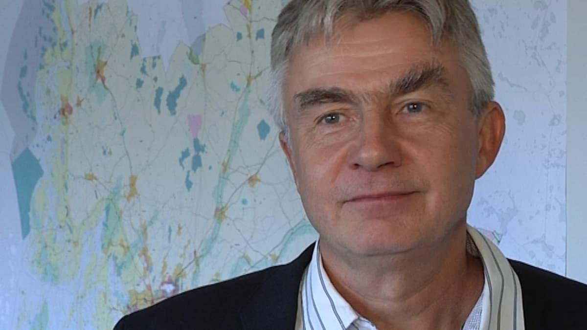 Varsinais-Suomen liiton suunnittelujohtaja Heikki Saarento