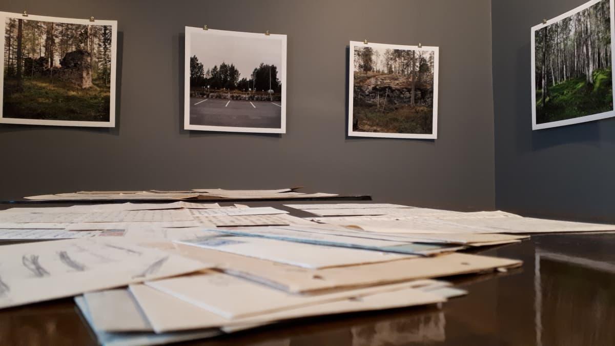 Seinäjoen synkästä historiasta 1918 kertova näyttely Suojeluskunta- ja Lotta Svärd -museolla.