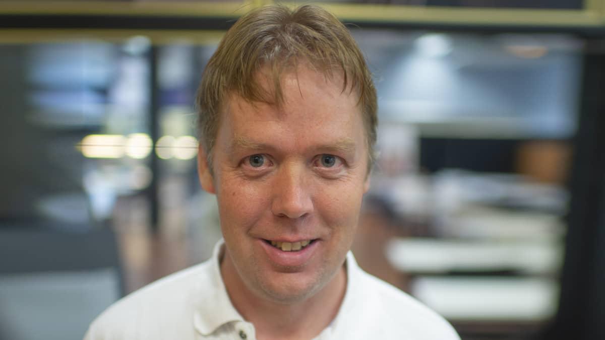Joakim Hansén, rehtori, Kyrkbackens skola, Kokkola
