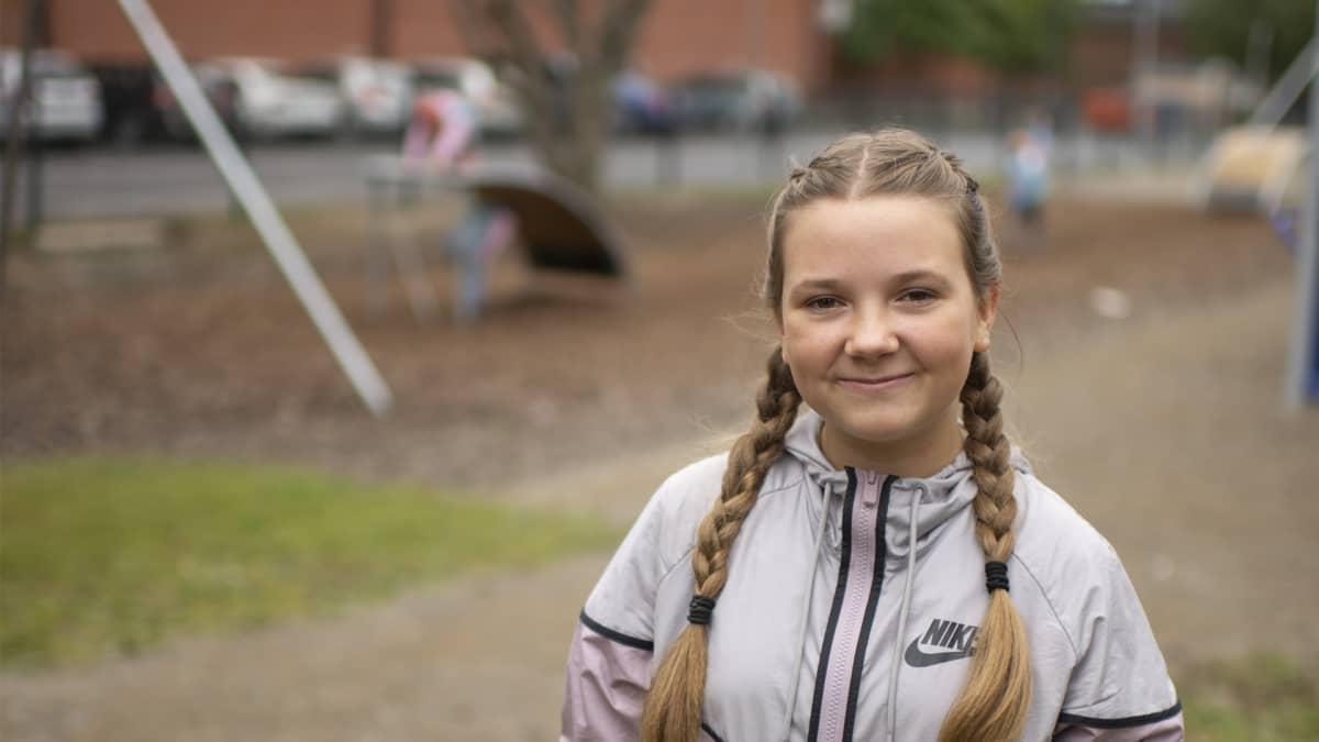 Noora Rintala, 6.-luokka, Kyrkbackens skola, Kokkola
