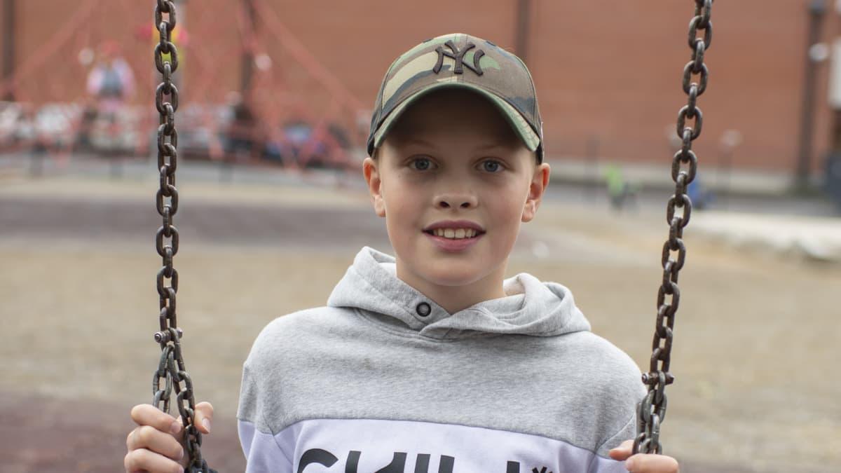 Viljami Petäjä, 6.-luokka, Kyrkbackens skola, Kokkola