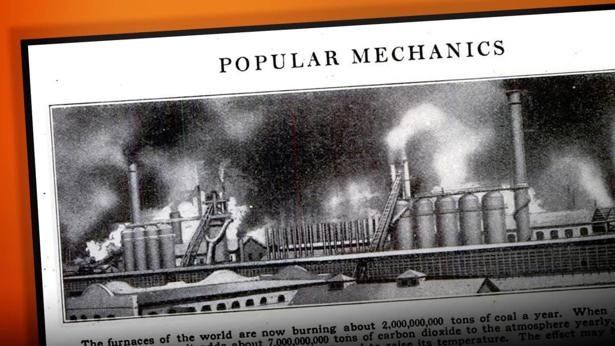 Kuvakaappaus Popular Mechanics -lehdestä.