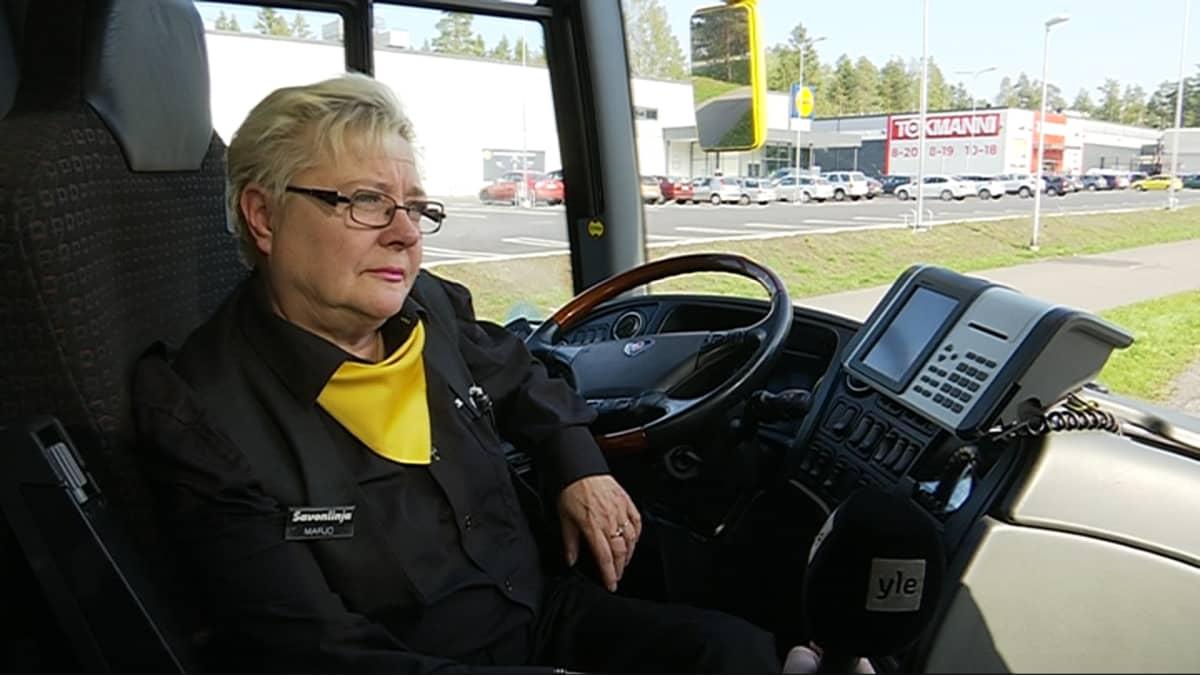 Linja-autonkuljettaja Marjo Niveri, Valkeala