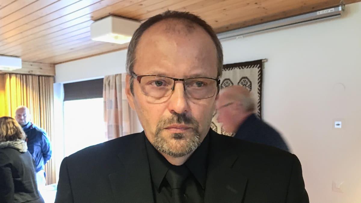 Kiinteistömestari Jouni Heiskanen