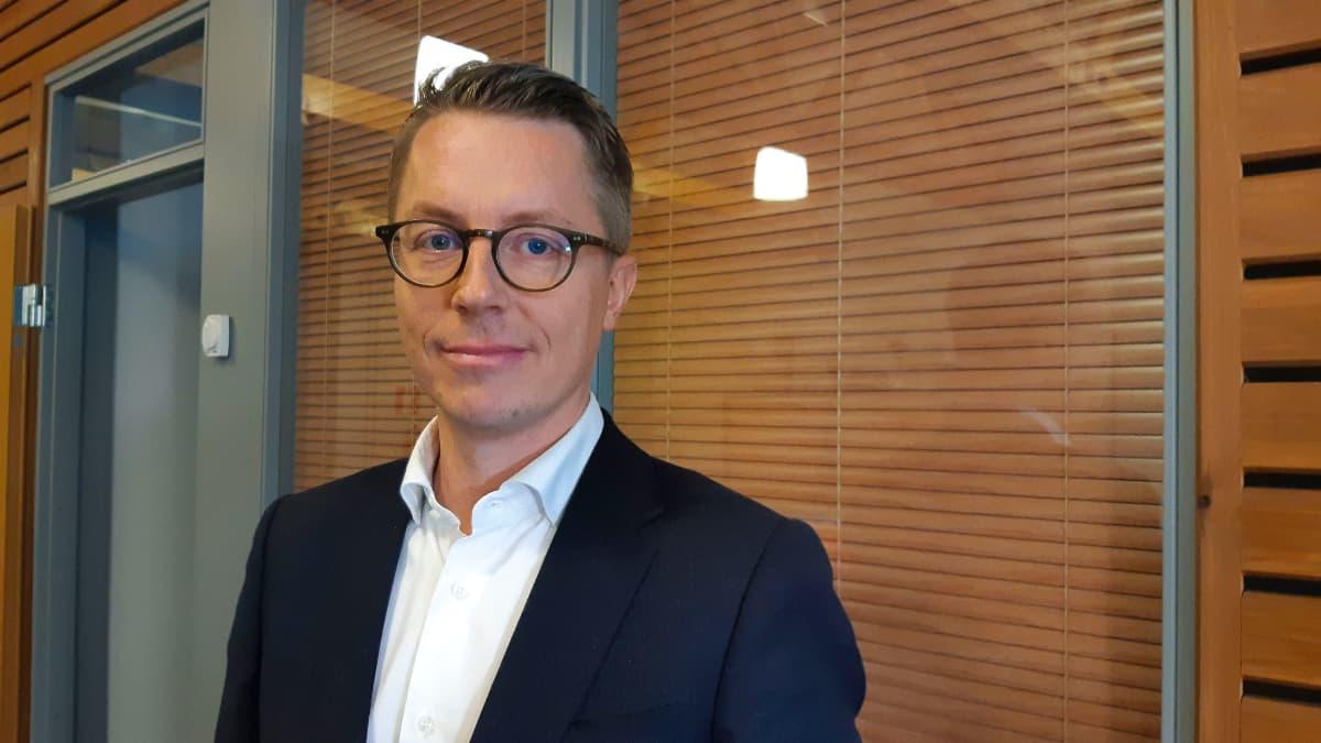 Versowoodin toimitusjohtaja Ville Kopra.
