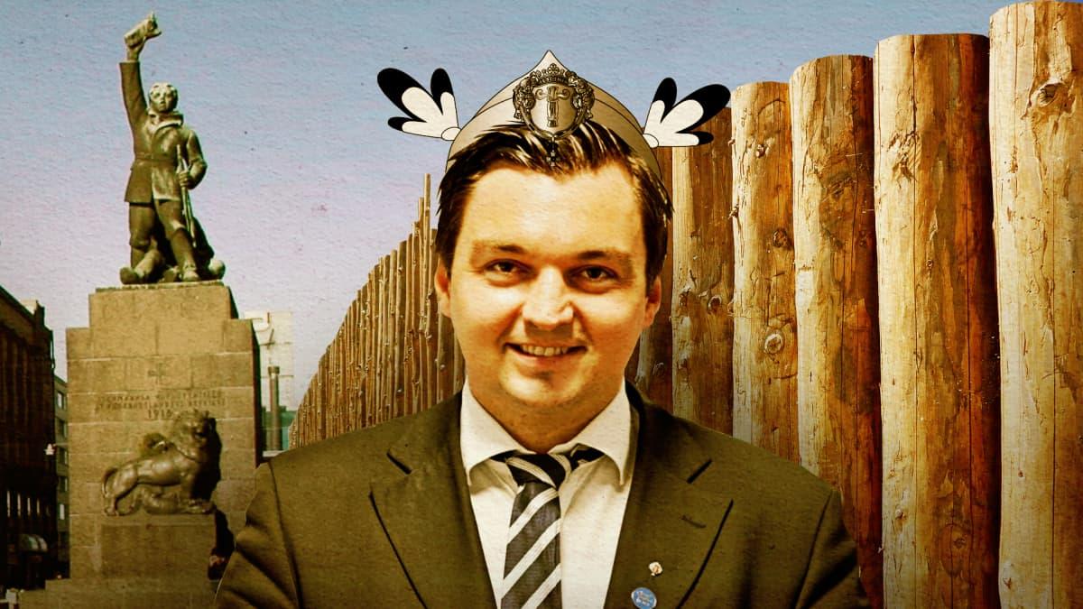 Vaasan valtuuston puheenjohtaja Joakim Strand.