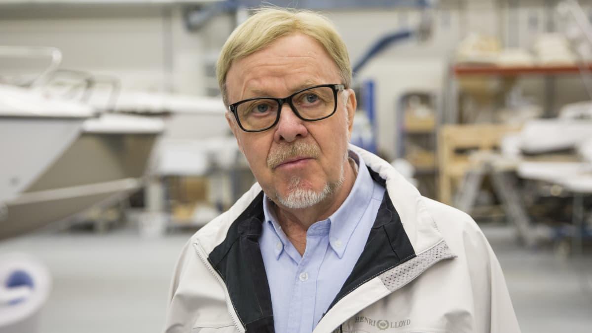 Kuopiolainen liikemies Raimo Sonninen.