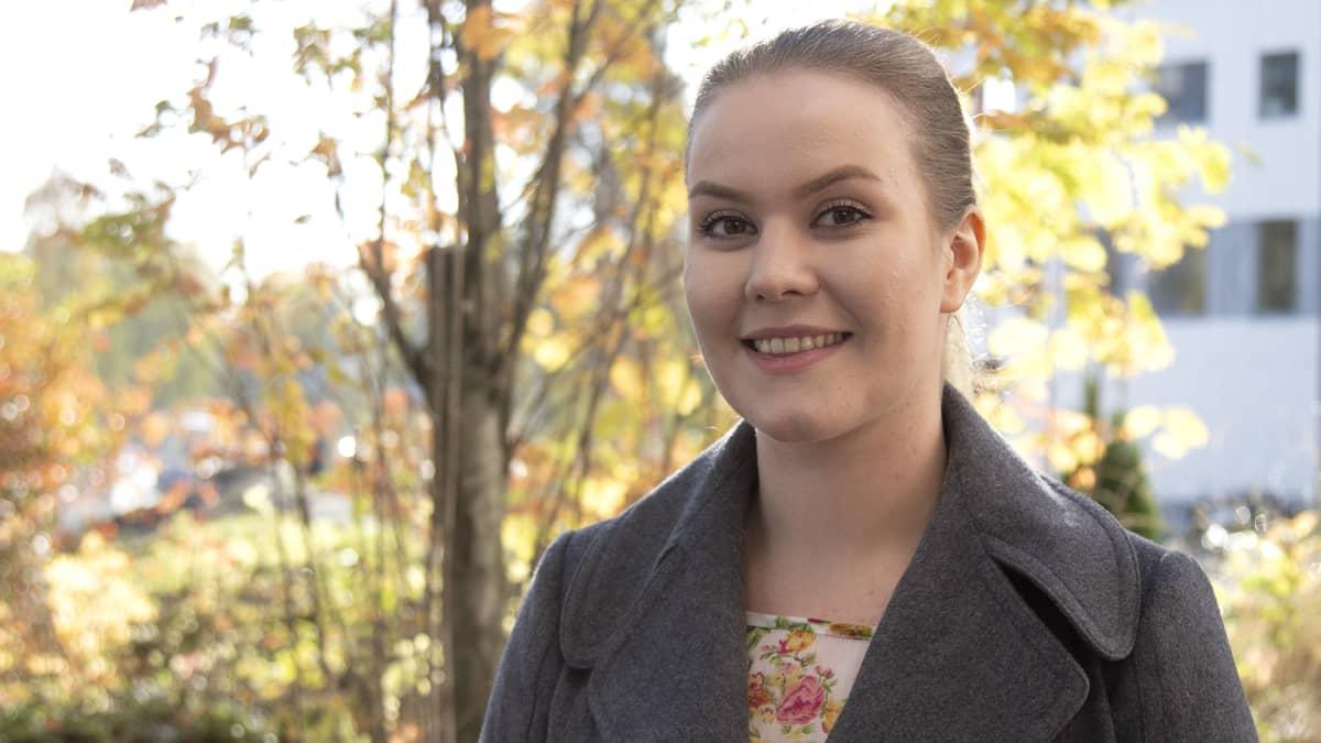Tampereen ammattikorkeakoulun naisopiskelija Riikka Iisakka