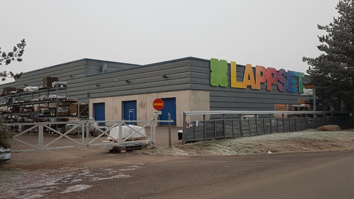Lappset Groupin Rovaniemen tehdas.