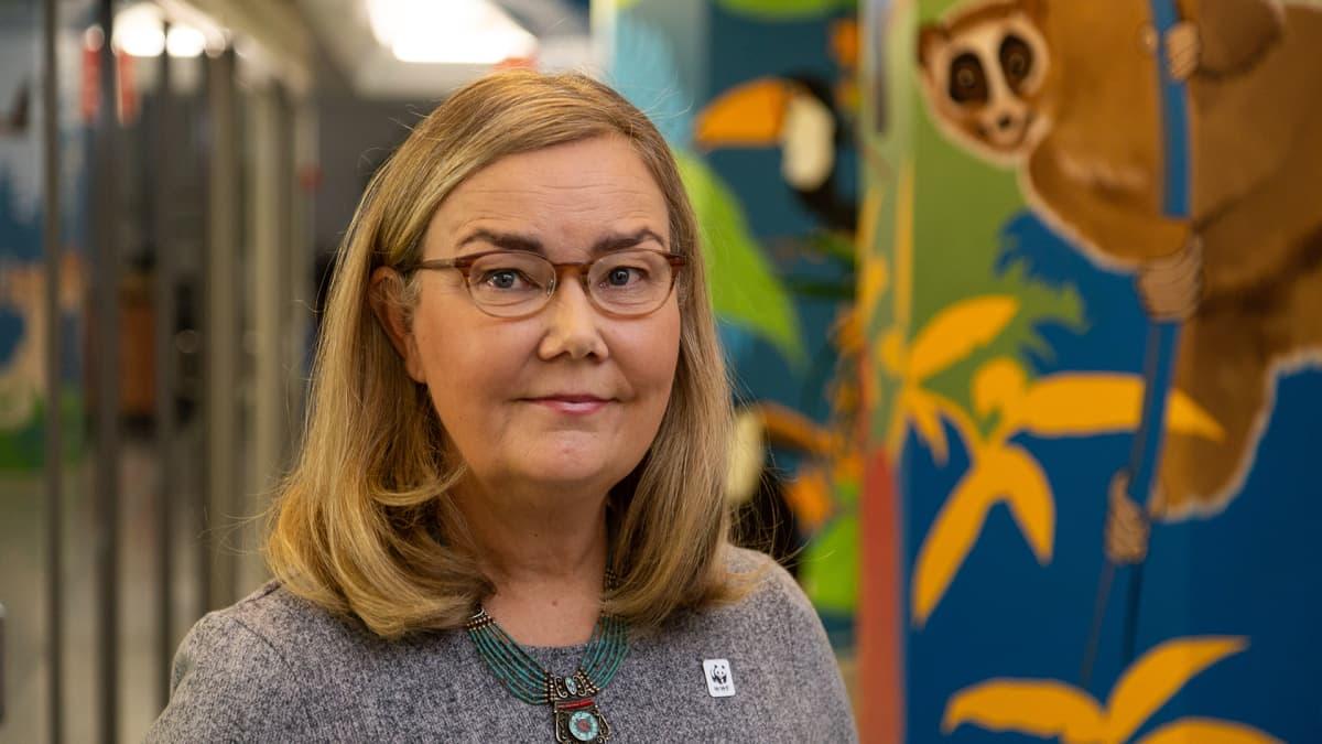 WWW Suomen pääsihteeri Liisa Rohweder.