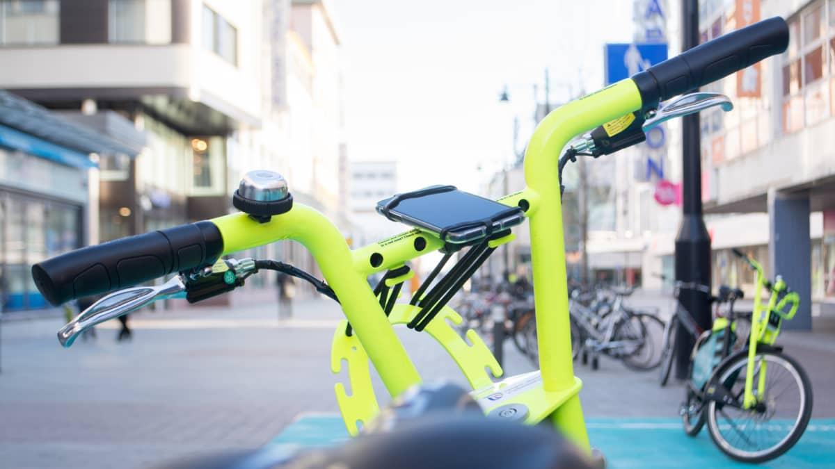 Kuopiossa otetaan vappuna 2019 käyttöön sähköavusteiset kaupunkipyörät.