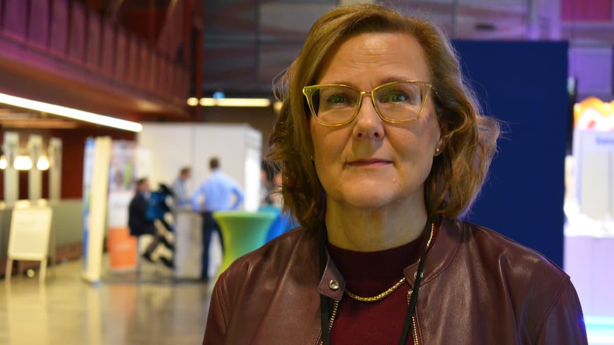 Professori Tiina Saarto, Hyks Palliatiivinen keskus.