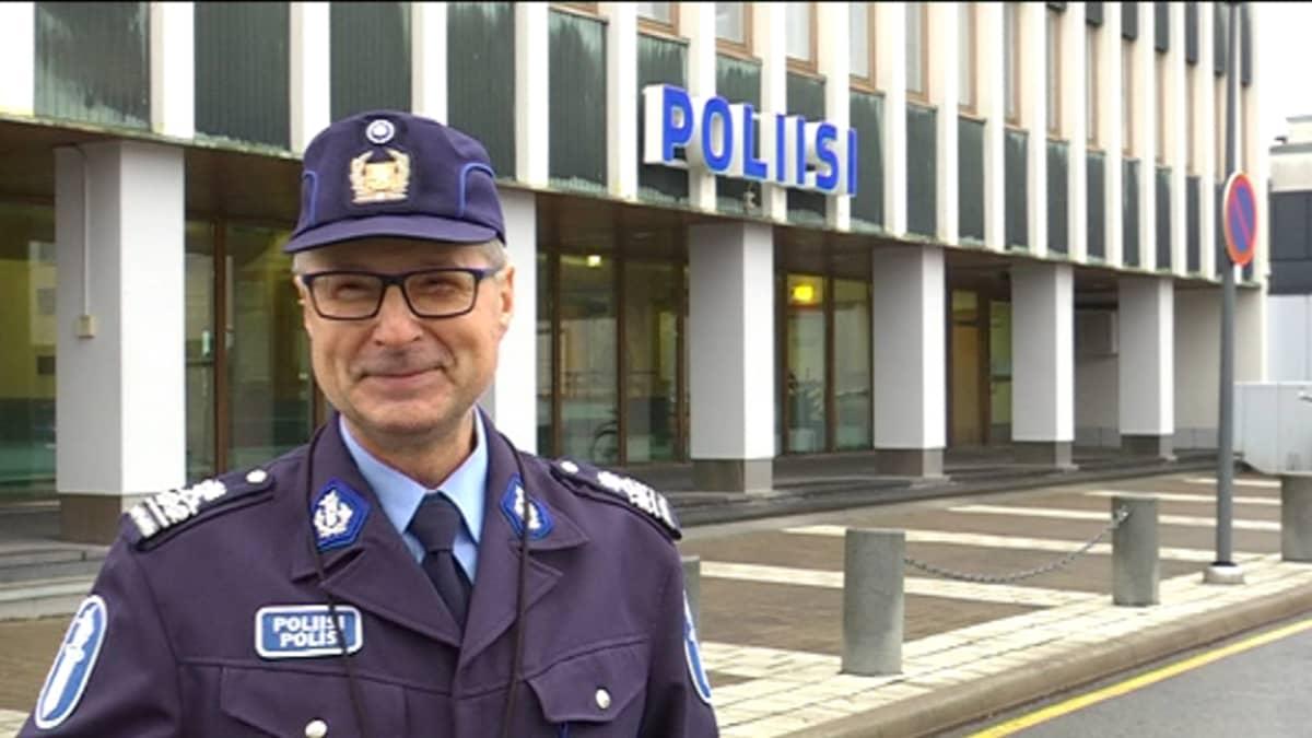 Ylikomisario Simo Pukkila Lounais-Suomen poliisilaitokselta.