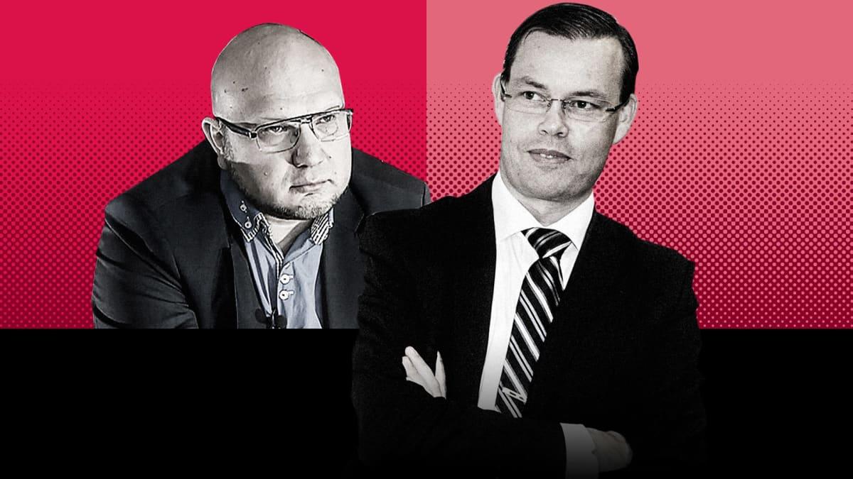 Aki Haaro ja Perttu Nousiainen.