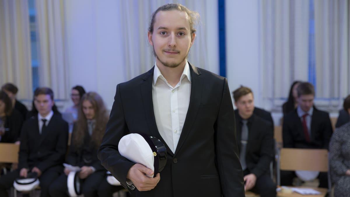 Ylioppilas Mika Müller