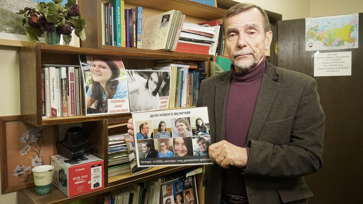 ihmisoikeusaktivisti Lev Ponomarjov