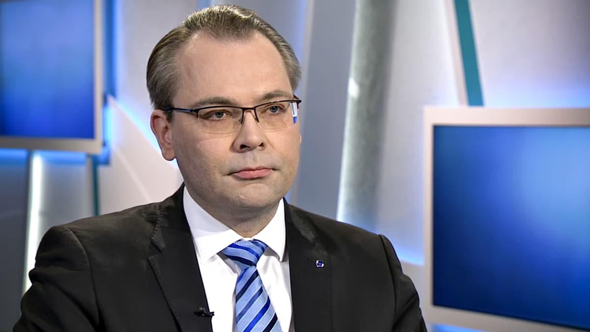 Jussi Niinistö Ykkösaamussa lauantaina 19. tammikuuta.