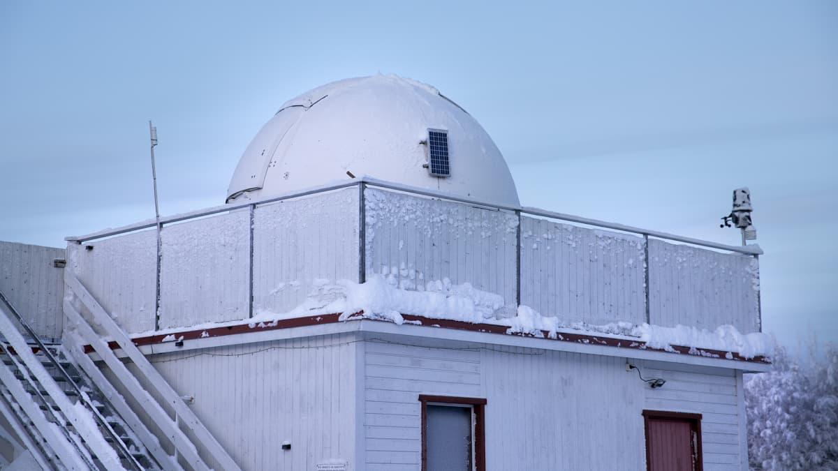 Hankasalmen observatorio.