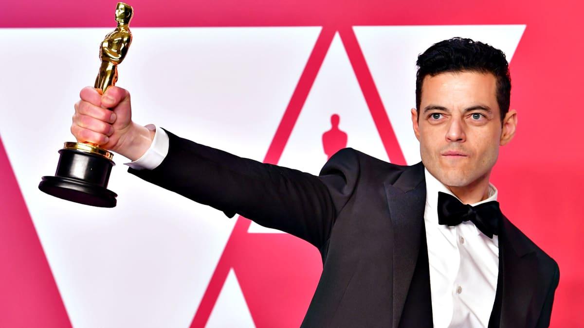Rami Malek sai parhaan miespääosan palkinnon.