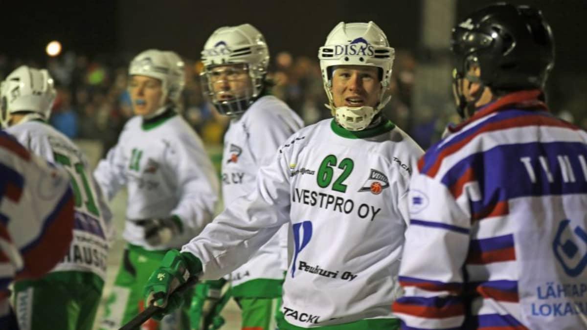 Veiterän pelaaja Tero Liimatainen.
