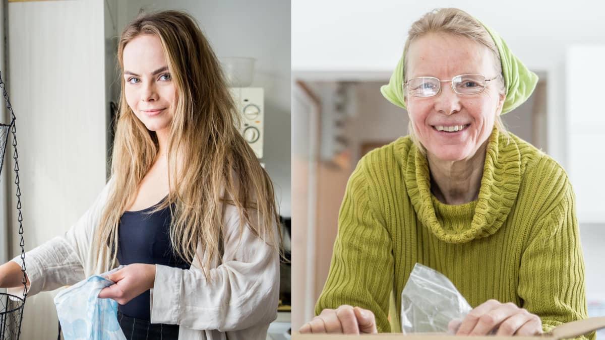 kaksi naista kuvassa