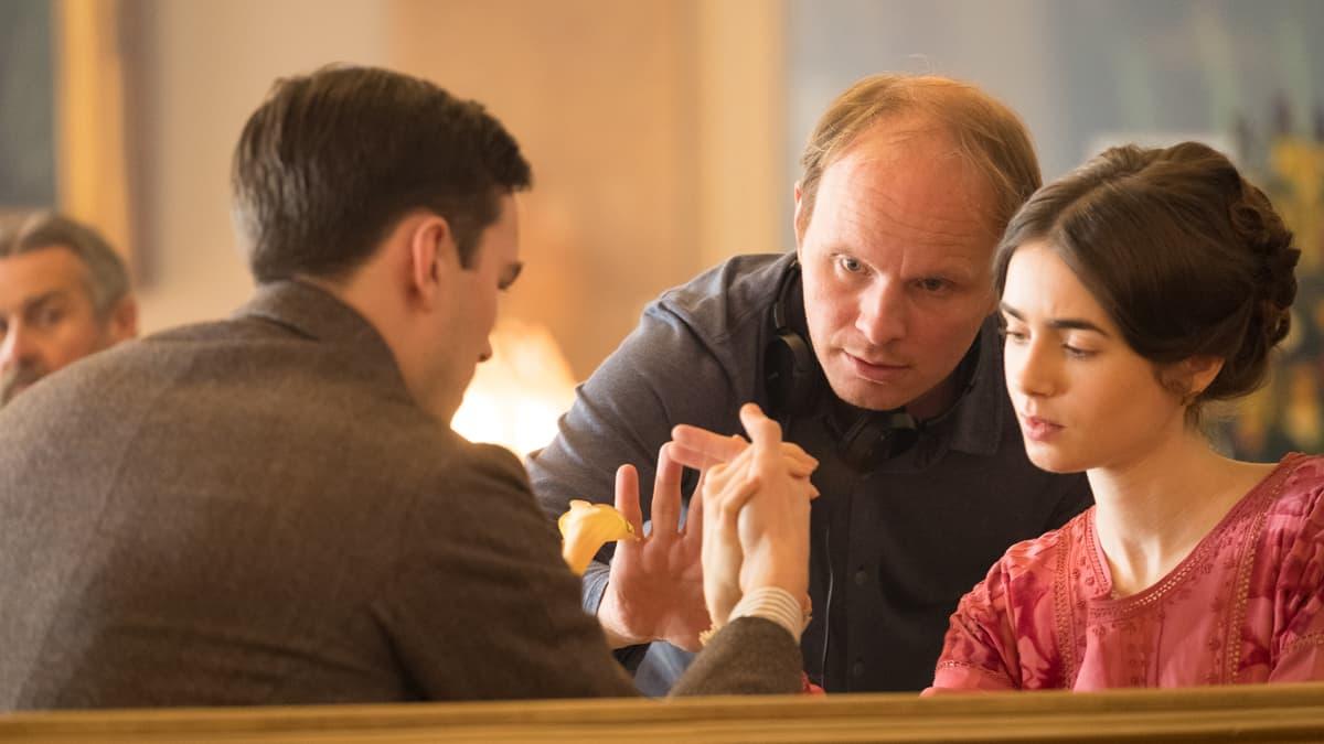 Nicholas Hoult, Lily Collins ja Dome Karukoski.