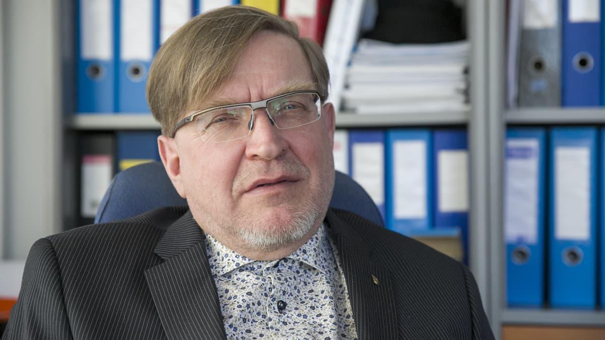 Kaavin kunnanjohtaja Ari Sopanen