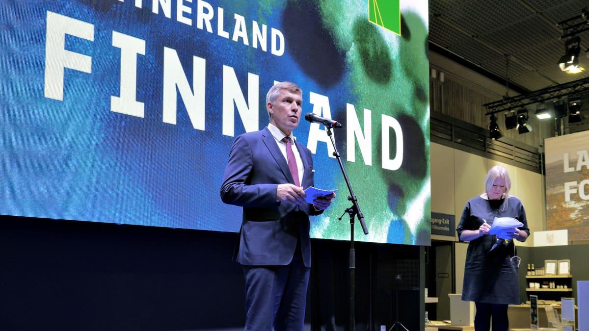 MTKn puheenjohtaja Juha Marttila on tehnyt paljon töitä messujen eteen.