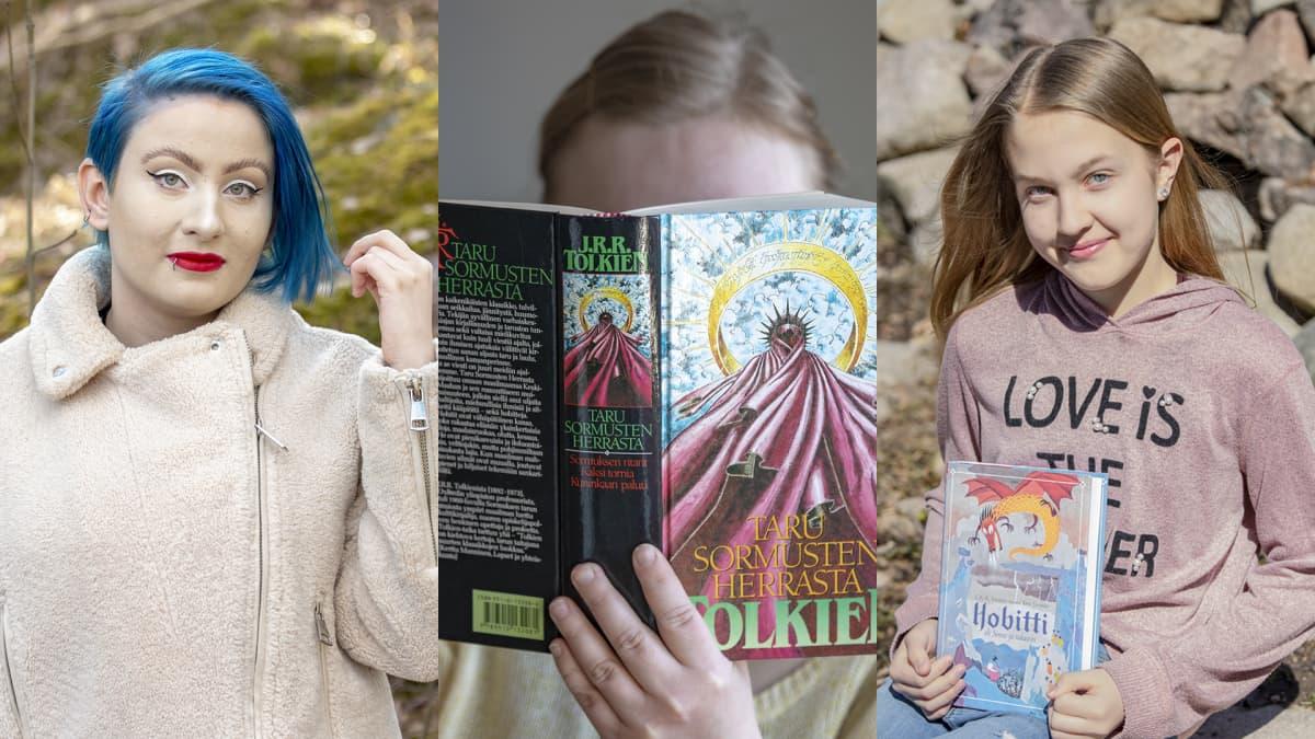 Mirjami Arwen Haverinen, Taru Ringa Kortelainen, Olivia Lorien Levo.