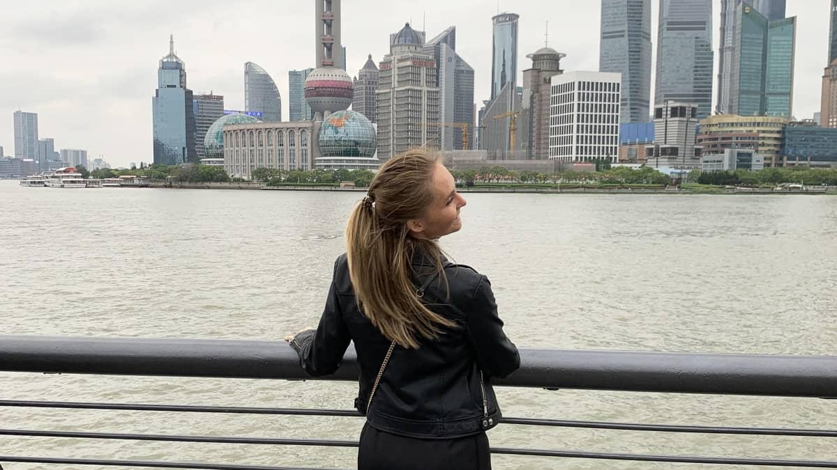 Linda Tervaniemi Shanghaissa