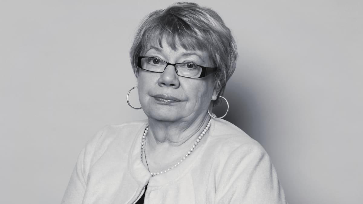 Entinen kansanedustaja Tuulikki Ukkola vuonna 2007.