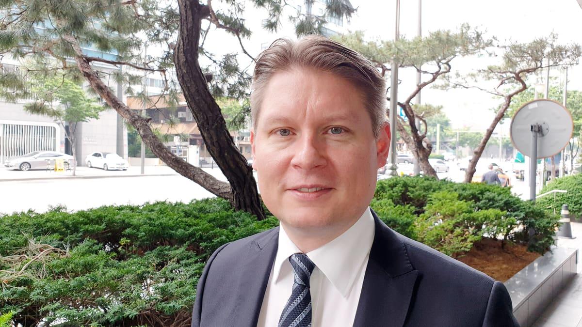 Topi Manner Finnair toimitusjohtaja