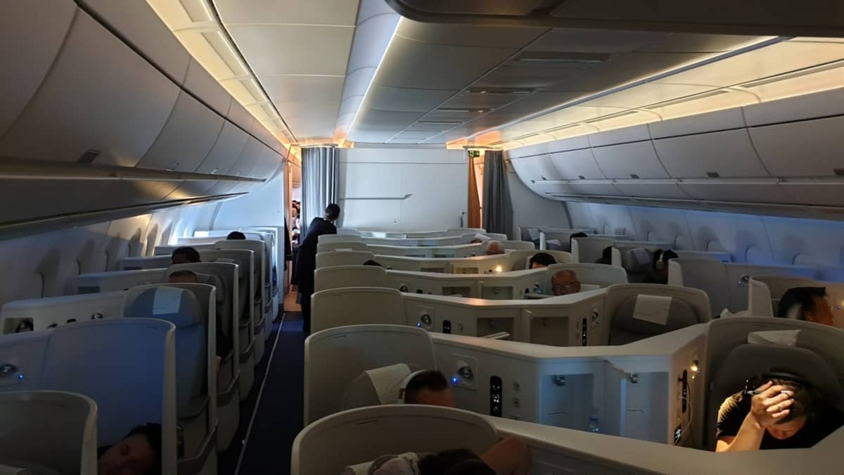 finnair Airbus a350 businessluokka