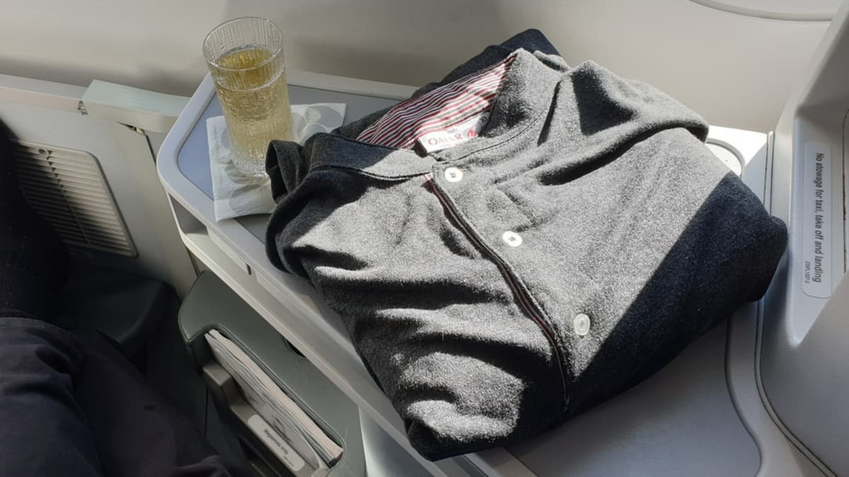 Qatar Airways pyjama
