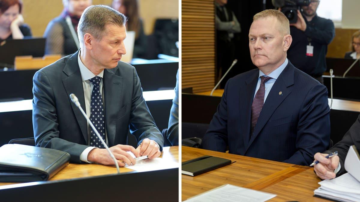 Sampo Eskelinen ja Markus Päiviö