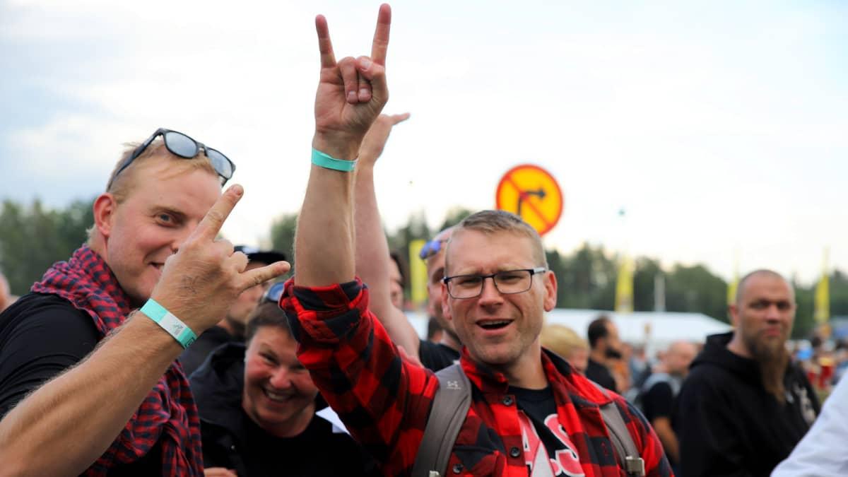 Metallican keikka Hämeenlinnassa 16.7.2019.