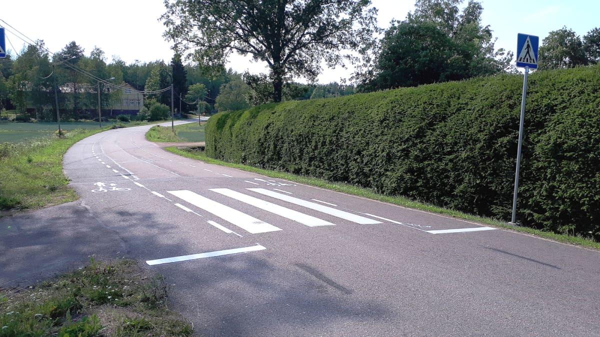 Hollantilaisen mallin mukainen kylätie