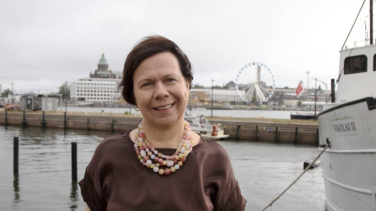 Suomalais-venäläisen kauppakamarin toimitusjohtaja Jaana Rekolainen