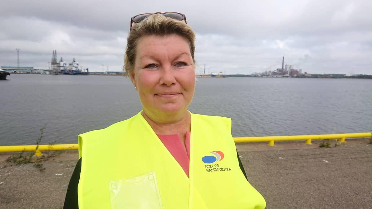 projektipäällikkö, risteilyliikenteen asiantuntija Petra Cranston, Kotka-Hamina seudun kehittämisyhtiö Cursor Oy