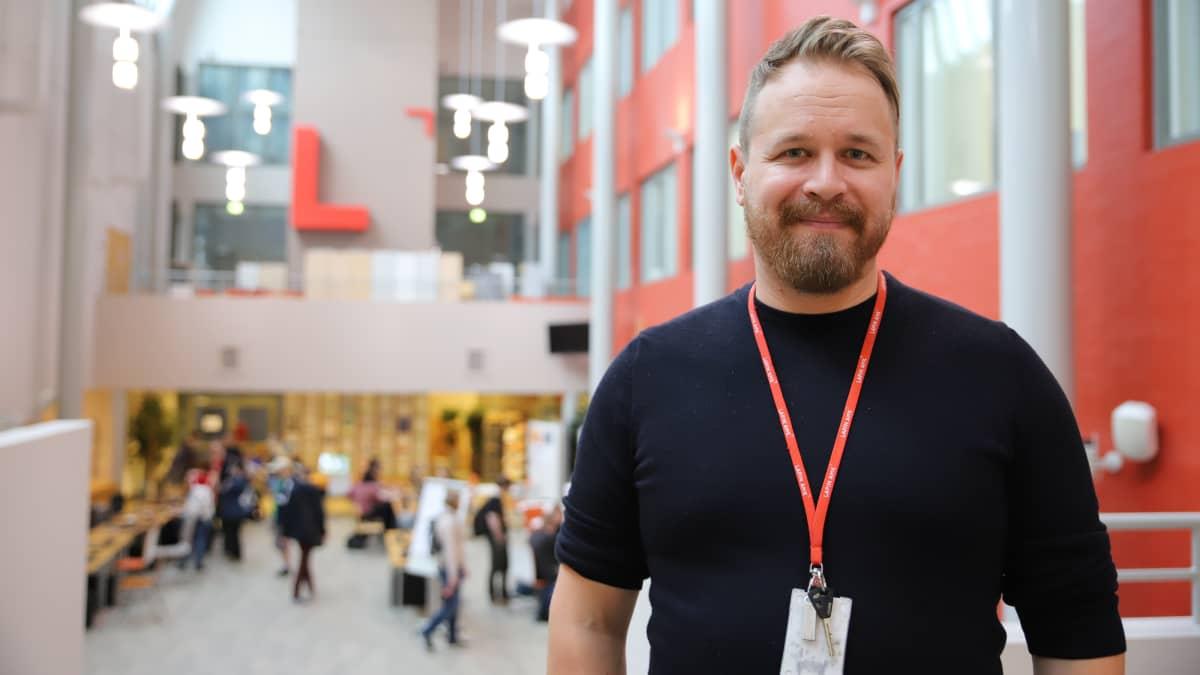 Mikko Vatanen Rovaniemen ammattikorkeakoululla.